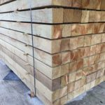 pressure treated fencing timber posts