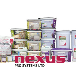 Nexus resin pointing systems, cleaners, and sealants