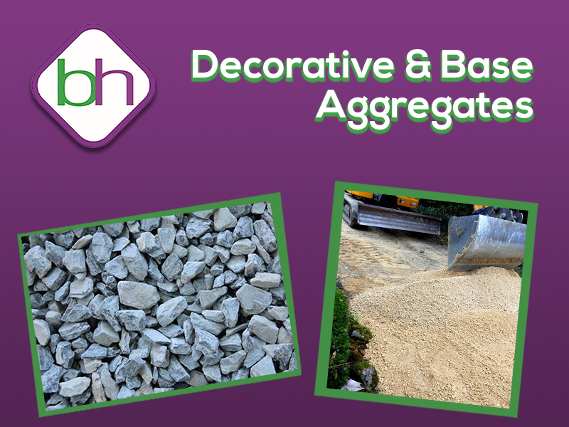 Decorative & Base aggregates