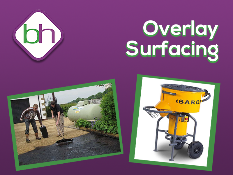 overlay surfacing systems