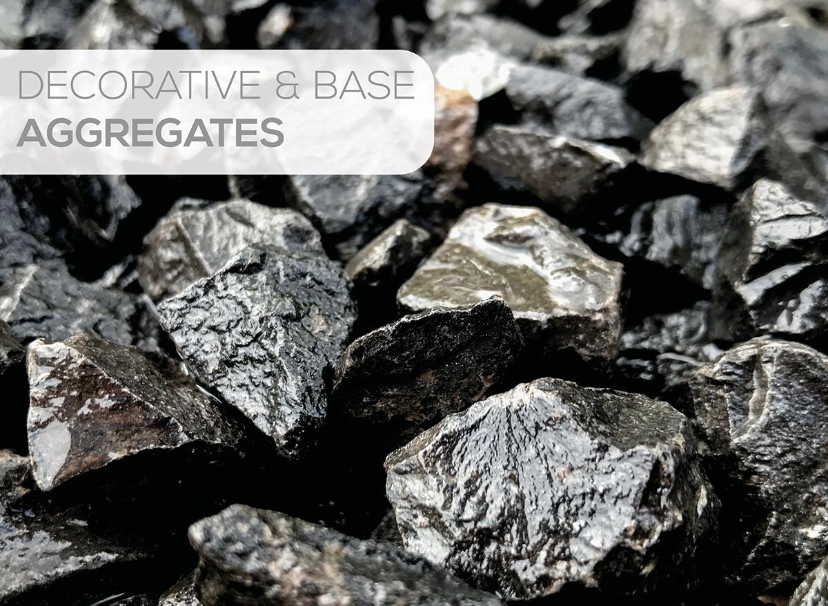 Decorative & Base aggregates