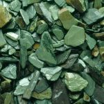Green slate mulch
