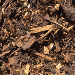 Amenity grade bark mulch