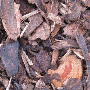 Ornamental bark mulch