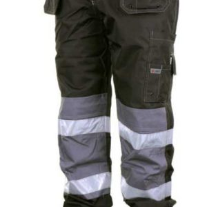 Multi pocket work trouser with knee pads